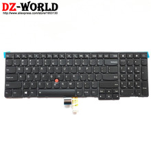 New/Orig US English Backlit Keyboard for Thinkpad T540P W540 W541 T550 W550S T560 P50S Backlight Teclado 04Y2465 04Y2387 0C45030