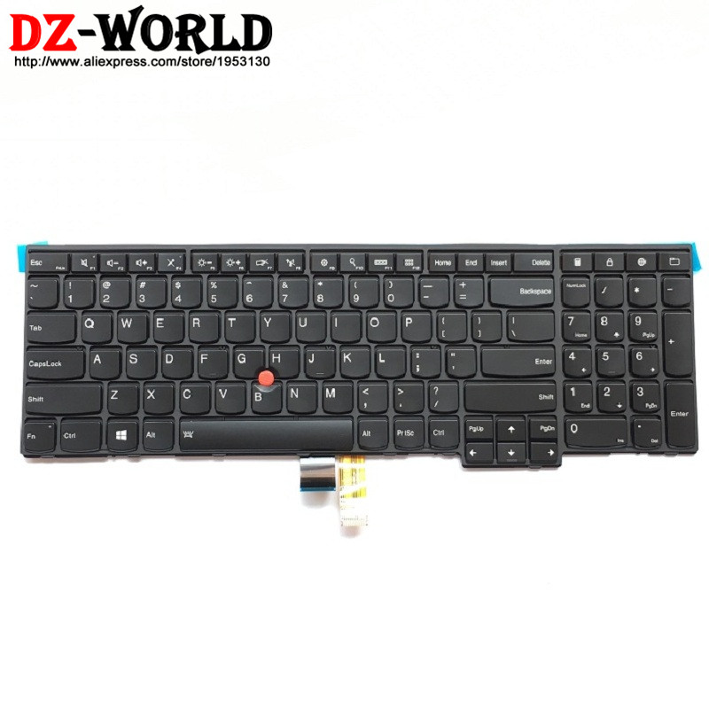 ad085f5f244 New/Orig US English Backlit Keyboard for Thinkpad T540P W540 W541 T550  W550S T560 P50S Backlight Teclado 04Y2465 04Y2387 0C45030