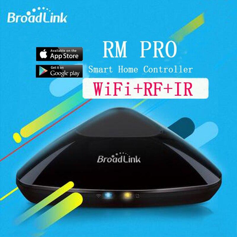 Broadlink RM2 RM PRO Smart Domotique Sans Fil WiFi IR RF télécommande universelle Interrupteur Travail avec Alexa Google Maison