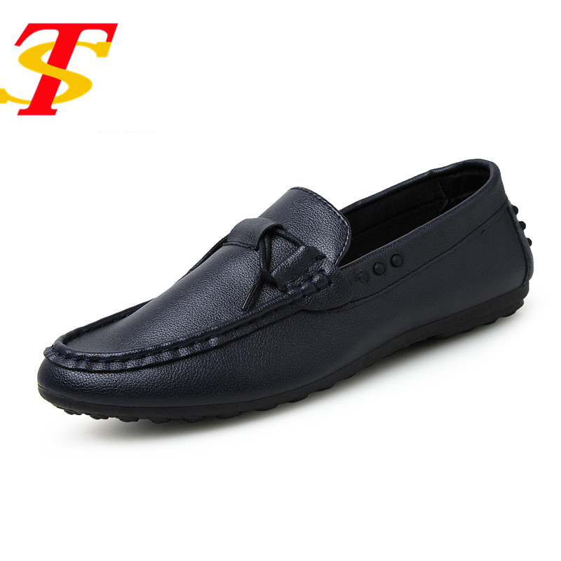 TS New Men's Summer Leather Shoes Men Loafers Breathable Slip On Boat Shoes Flats Driving Casual Shoes Cheap Sapato Masculino 2017 new fashion summer spring men driving shoes loafers real leather boat shoes breathable male casual flats