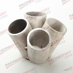 4 1 4 cylindry nagłówek kolektora połączyć kolektor ze stali nierdzewnej T25 T28 wlot w Kolektory spalin od Samochody i motocykle na