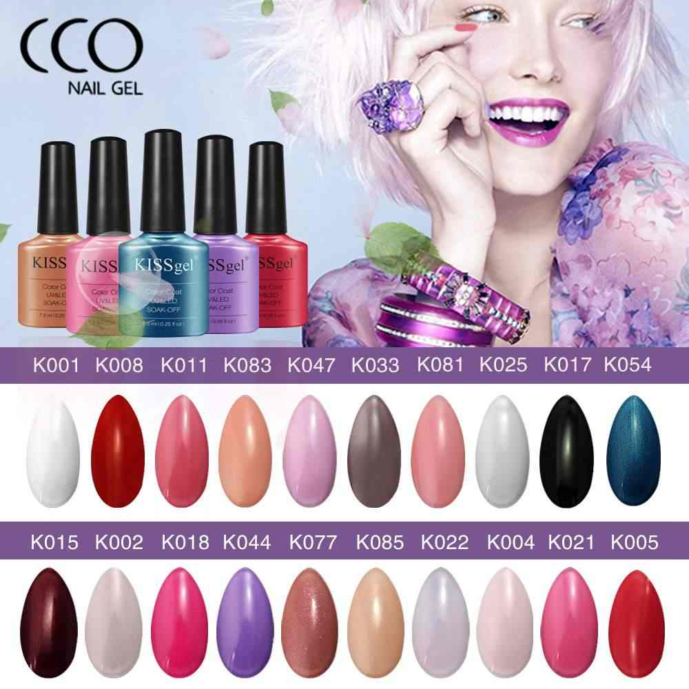 Detail Feedback Questions About Cco Kiss Gel Nail Polish Pure Colors