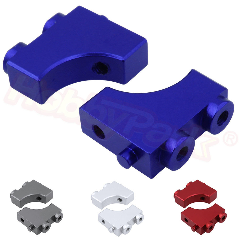 2pcs Aluminum Alloy Servo Post <font><b>10696</b></font> For VRX Racing 1/10 Trophy Truck RH1043 RH1045 RH1043SC OCTANE XL EBL EBD Upgrade Parts image