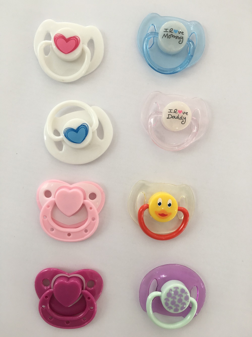 New Arrival Lovely Magnetic Pacifiers For Reborn Baby