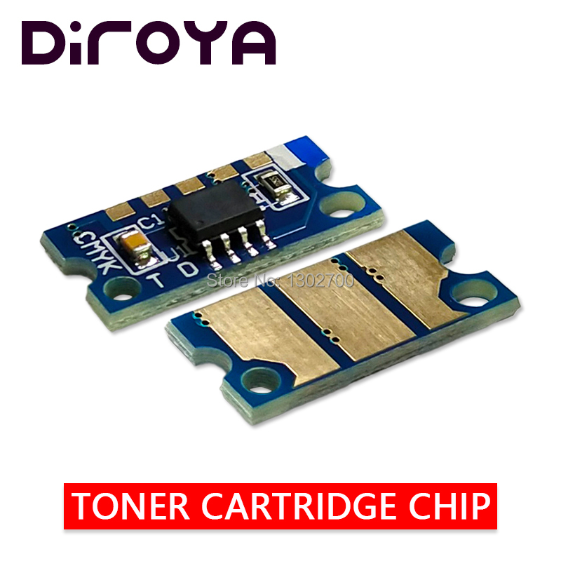 1SET IUP14 K C M Y Image Unit Chip For Konica Minolta Bizhub C25 C35 C35P Develop Ineo+ 25 35 35P Copier Drum Cartridge Resetter