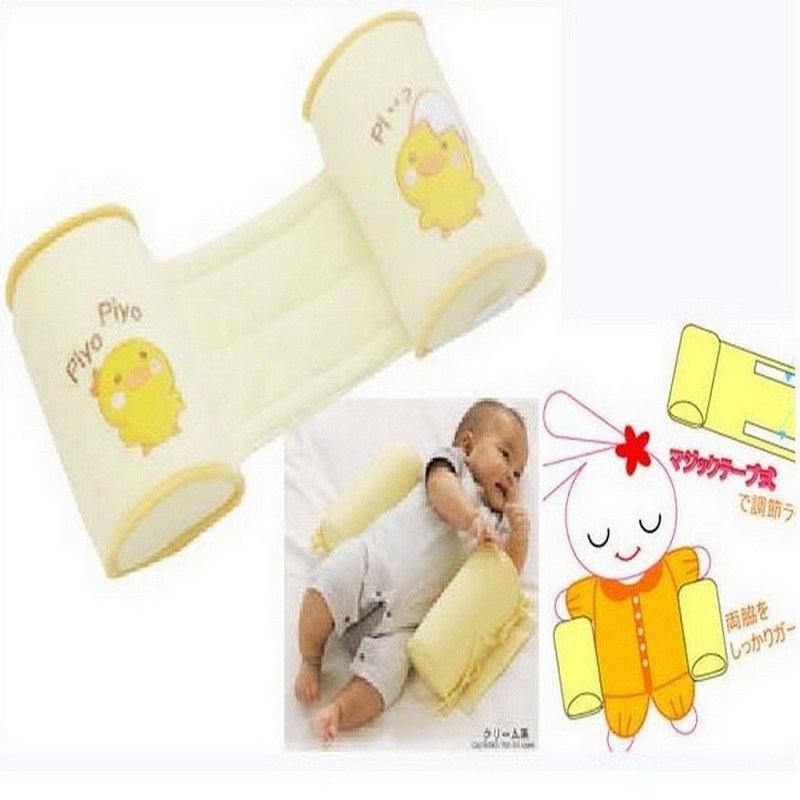 New baby product Baby Safe Cotton Anti Roll Pillow Sleep Head Positioner Anti-rollover Pillow