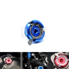 blue M20*2.5 motorcycle Aluminum Motorcycle Fuel Gas Tank Cap Cover Oil Cap FOR HONDA CB300F CB500F CB300X ducati multistrada