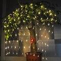 1.5 M x 1.5 M 120 LED de Navidad de La Boda Luces de colores LED String Fiesta de Cumpleaños Guirnalda Decoración de Jardín Árbol con 8 Modo de luz de LA UE/EE. UU.