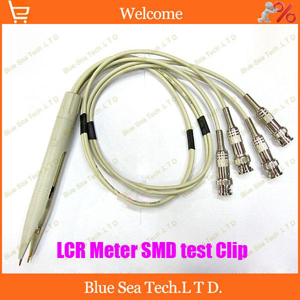 Free Shipping High Quality LCR Meter SMD Test Leads / LCR test Clip / Terminal Test Line for capacitance electric circuit ect vel vel 03 01 01 02200
