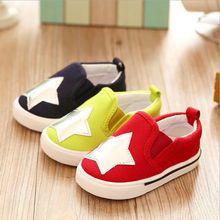 Venda quente Da Moda Crianças Sapatos Para Meninos Meninas Primavera & Outono Sola Macia Confortável Esportes Dos Miúdos Casuais Sapatilhas Chaussure