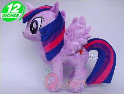 Ty Beanie Boos Big Eyes Unicorn Horse Twilight Sparkle