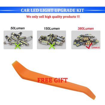 8X Canbus Error Free White Interior LED Light Package Kit for 1998 - 2017 2018 2019 Subaru Forester Crosstrek led Interior Light 1