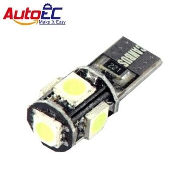 AutoEC 300X canbus led t10 5050 w5w error free  wedge led bulb 194 168 Turn signal Light DC12V 7 color #LB95