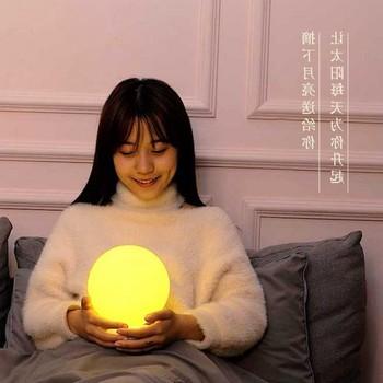 Luna di Illuminazione di Telecomando Ricarica di Controllo Camera Da Letto Della Lampada Luna Da Sposa luci Decorative