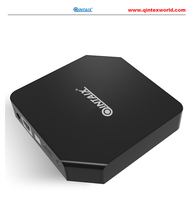QINTAIX TV Box Amlogic 3 GB 32 GB Octa Core Android 7.1 OS BT 4.1 2.4 GHz + 5.0 GHz WiFi Mini PC Media Player Smart Set Top Box 5pcs android tv box tvip 410 412 box amlogic quad core 4gb android linux dual os smart tv box support h 265 airplay dlna 250 254