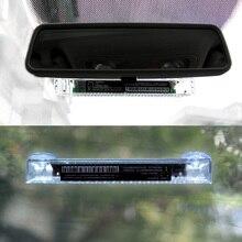 Led Solar windshield warning light 12V flasher on the car light Police Emergency flasher strobe Caution