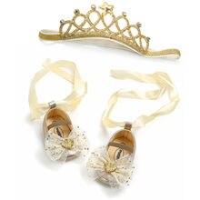 Princess Baby Girls Shoes Newborn Infant Girls Shoe