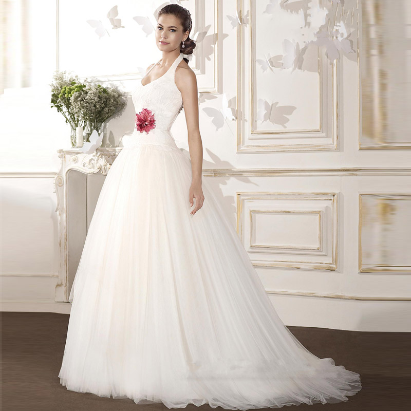 Casamento Halter Vintage Wedding Dress China Online Shop