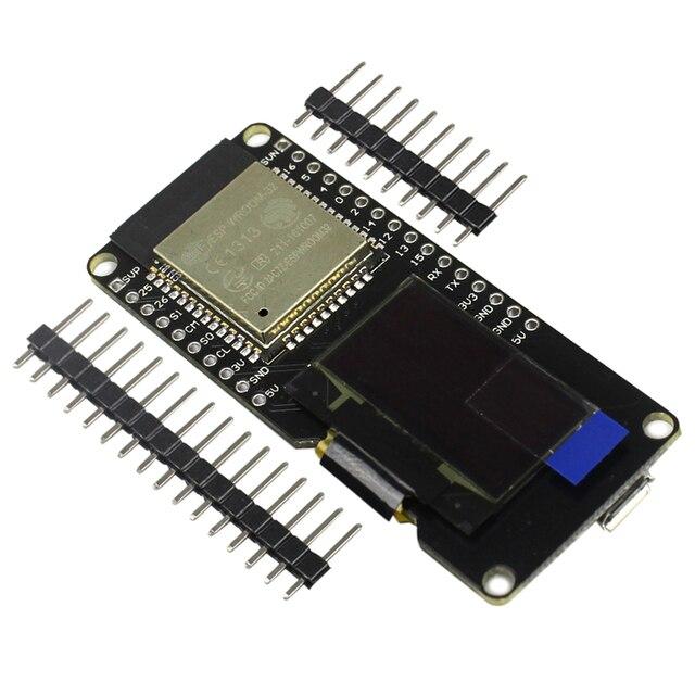 ESP32 OLED WiFi Modules+ Bluetooth Dual ESP-32 ESP-32S ESP8266 &OLED ESP32 OLED for arduino DIY KIT
