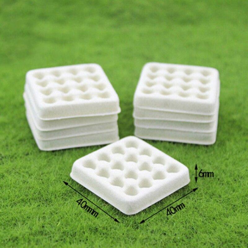 Dollhouse toy model miniature food playing mini empty egg