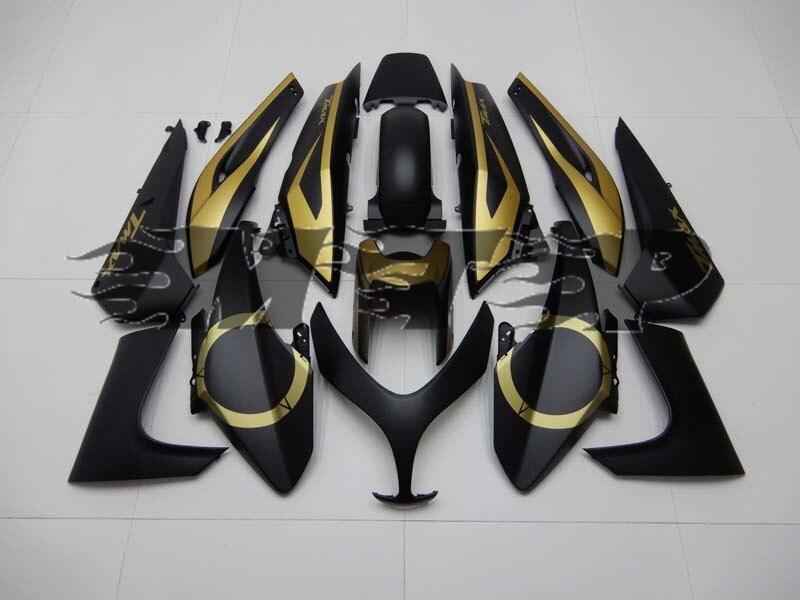 Kit de carénage ABS adapté pour Yamaha TMAX500 TMAX 500 2008-2012 08-12 carénages sur mesure carrosserie de moto