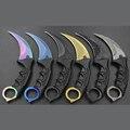 Karambit Нож CS ХОДУ Counter Strike Ножи Выживания Охотничий Нож Кемпинг Инструменты Herramientas