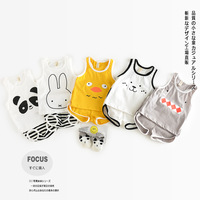 5 colors Children Sets 2017 Summer Baby Sets Kids Suits Cartoon Baby Girl Clothes Cartoon Top+Shorts