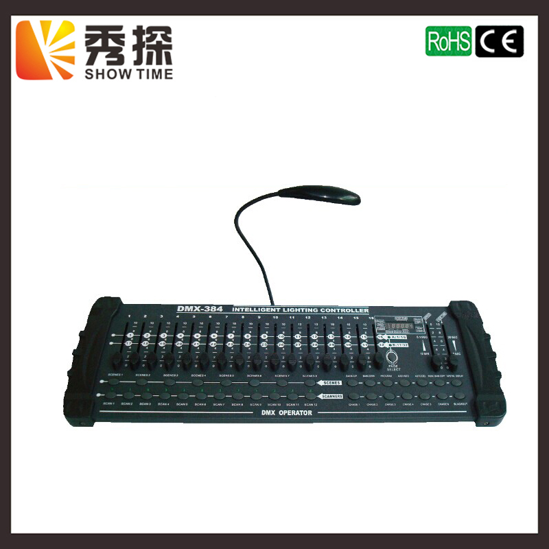 Sale promotion for 384 DMX controller good quality stage lighting console professional DJ Bar Stage Club Wedding equipment