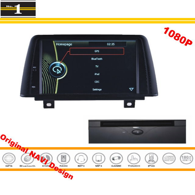 For BMW ActiveHybrid 3 / ALPINA B3 2012~2015 Car GPS Navigation Stereo Radio DVD Player HD Screen Original Design System
