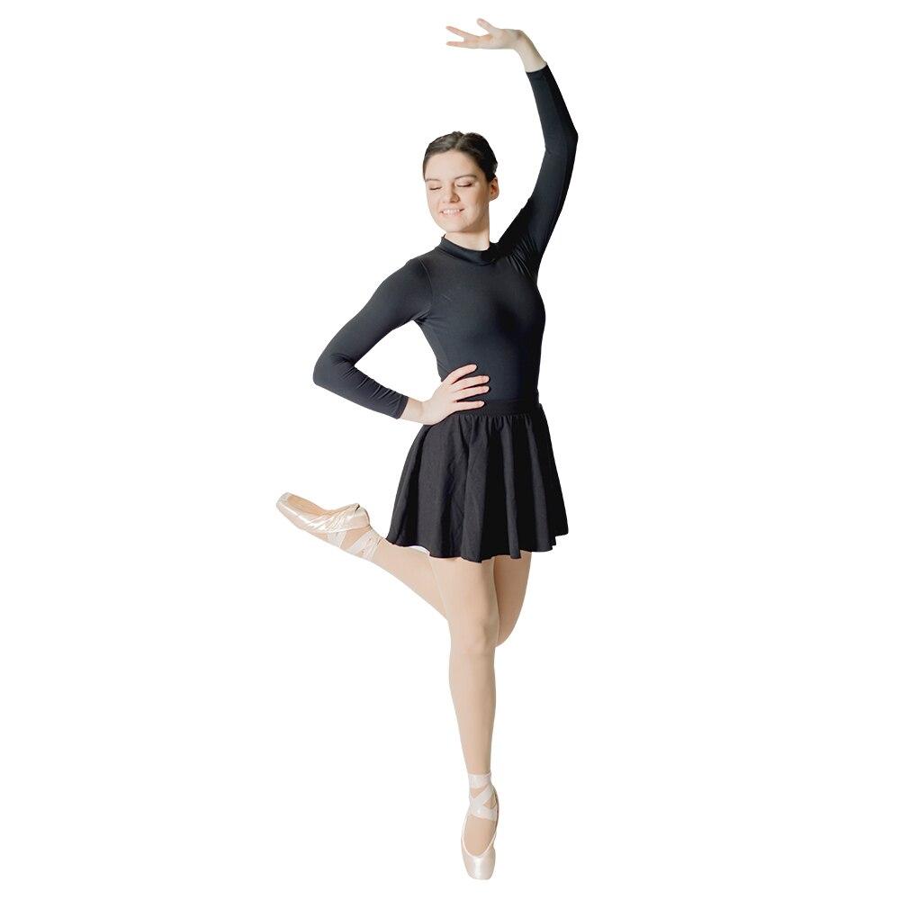 0b6aa74eb Algodón negro/LICRA tirón-on faldas de baile rojo niños niñas Ballet ...