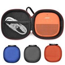 2019 Novo Caso Capa Para Bose SoundLink Falante Bluethooth Orador Micro Serve Para Plug & Cabos Malote da Caixa De Armazenamento alça de Bolsa Com Zíper