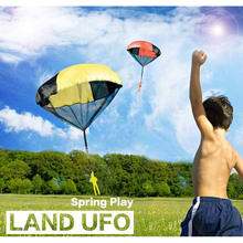 Mini Parachute Toy Hand Throwing Soldier Paratrooper Style Parachute Toys Outdoor Sports Children Educational Toys Chrismas Gift цена