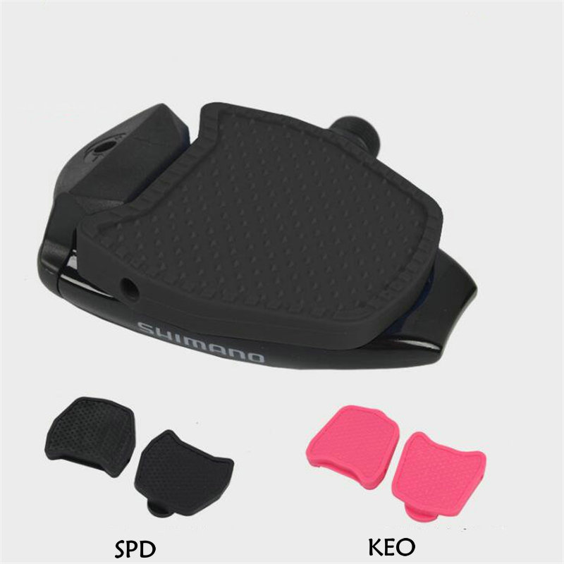 KE0 for Look Richy SPD-SL Clipless Pedal Convert to Universal Platform Pedal Adapters Clipless Platform Adapter Pedal Plate Cleats Pedal Convertor SPD for Shimano