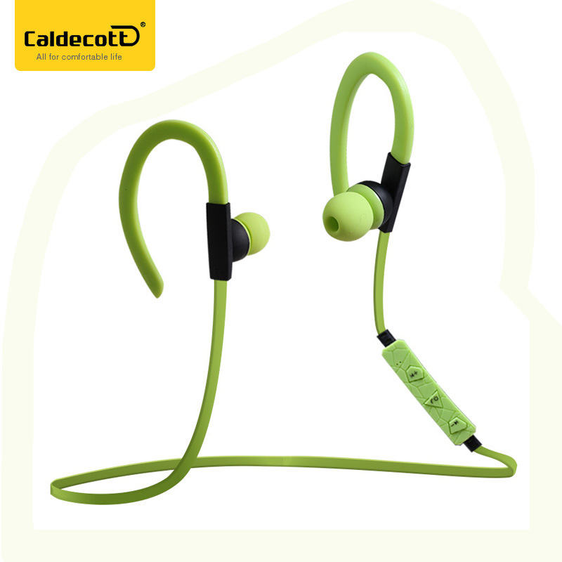 Caldecott KDK-55 Bluetooth headphones Sport headset Wireless Earbuds stereo With Bluetooth earphone for xiaomi iphone android remax 2 in1 mini bluetooth 4 0 headphones usb car charger dock wireless car headset bluetooth earphone for iphone 7 6s android