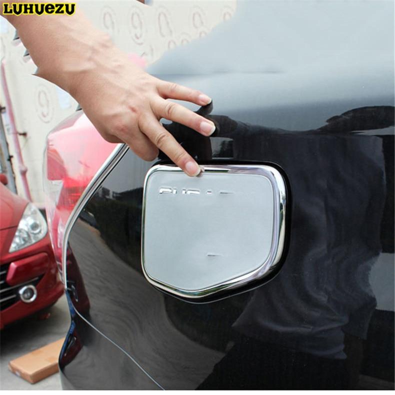 Luhuezu ABS forkromet gasafdækning Fule Tankafdækning til Subaru - Bilreservedele - Foto 5