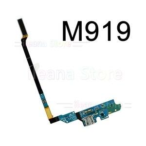 Image 5 - オリジナル usb 充電ボード充電フレックスケーブルサムスンギャラクシー S4 i9500 M919 I337 i9505 4 グラム i545 マイク部品