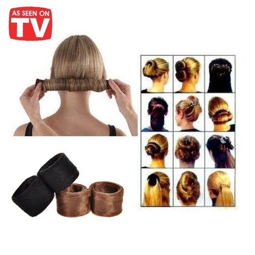 Dropshipping Hairagami Fashion Hair Band Accessories Hairpin Bun Tail Brand New As Seen On Tv In Women S From