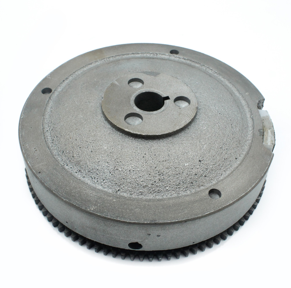 Exectric Flywheel With Magnets Ring Gear For HONDA GX340 GX390 188F 11-13hp Gasoline Engine Motor Generator Water Pump Lawnmower lawnmower blade