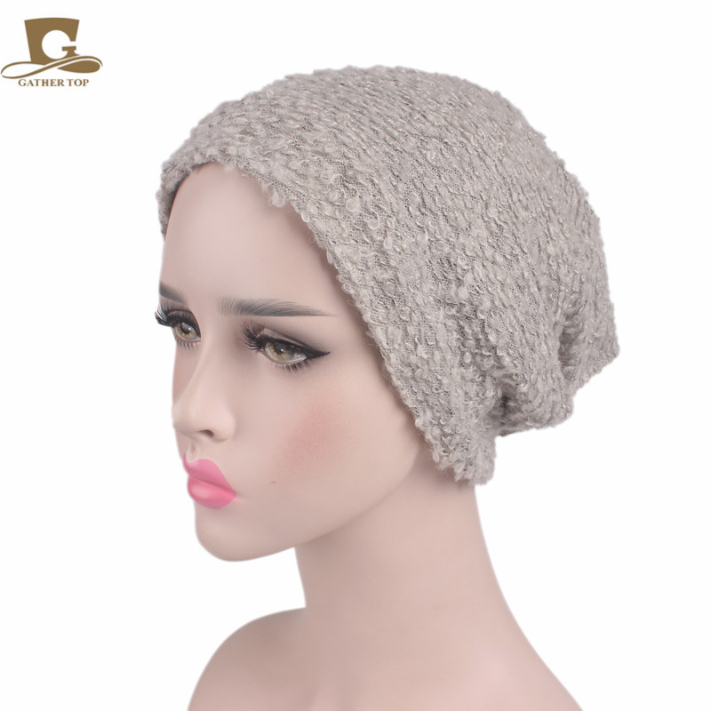 2017 new fashion Winter Women Beanie Hats Unisex Warm Wool Skullies Casual Slouch Baggy Gorros Solid Color Caps Christmas Gift 2016 new fashion letter gorros hats bonnets
