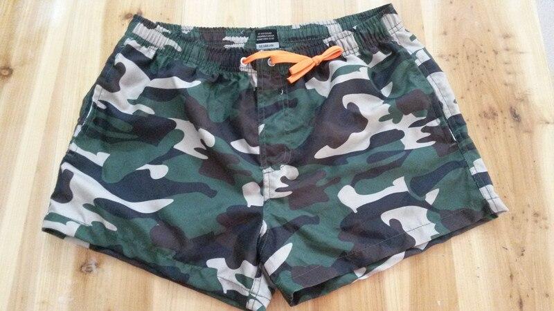 Camouflage meeste pardal lühikesed püksid rannas ujumisriided kiire - Meeste riided - Foto 5