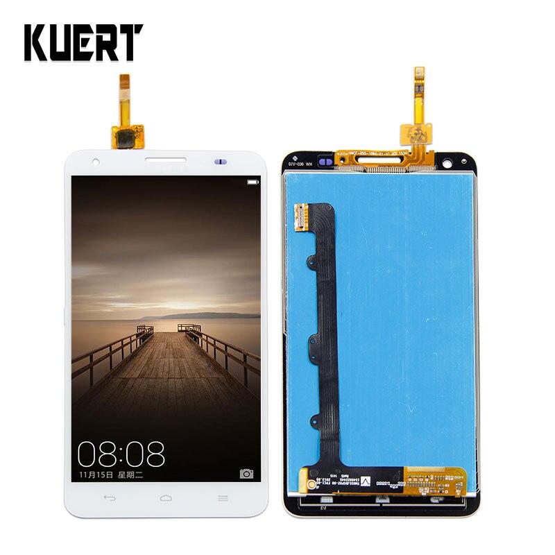 Pour Huawei Honor 3X G750 LCD Affichage Digitizer Écran Tactile Assemblée Capteur + Cadre G750-T01 G750-T00 G750-U10