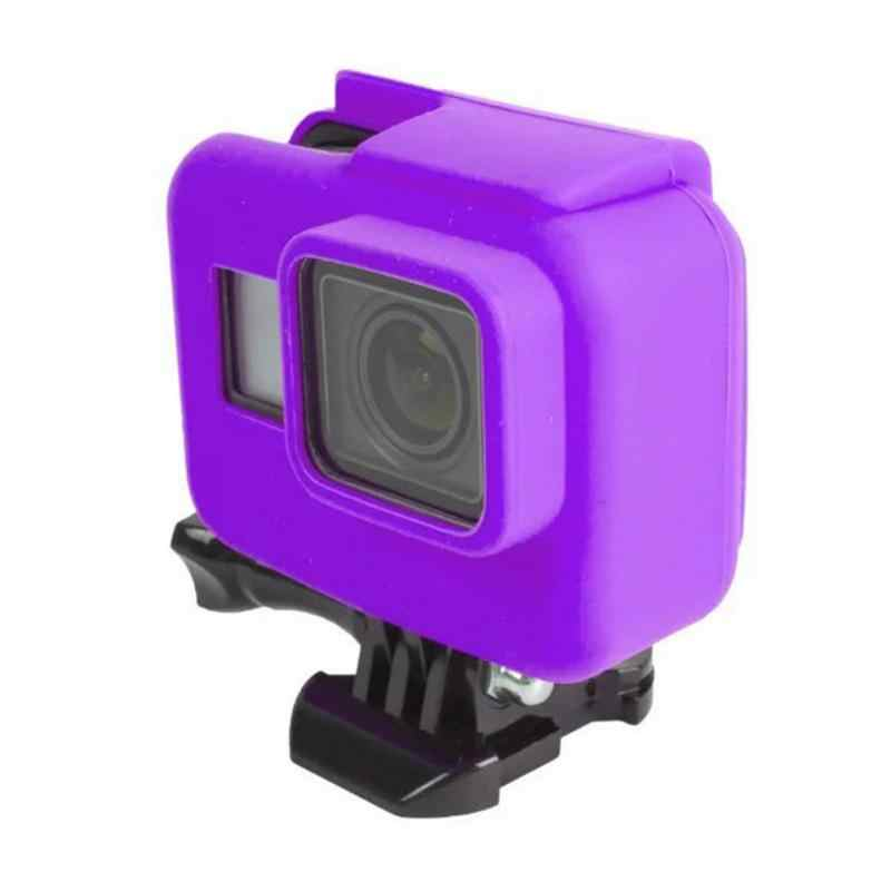 Мягкий силиконовый чехол карамельного цвета с боковой рамкой, защитный чехол, анти-грязное масло для Go Pro Hero 5, аксессуары для спортивной экшн-камеры