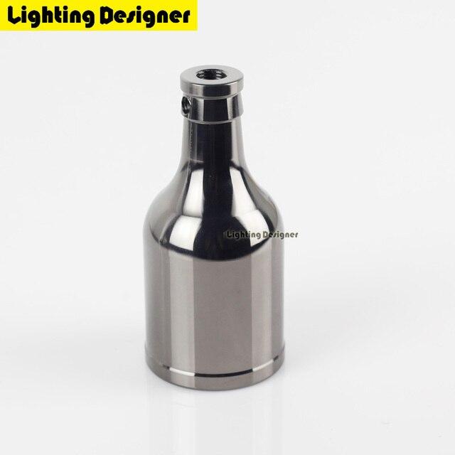 Armaturen industrie  Vintage Edison Lampenfassung E27 Schraube Glühbirne Basis Aluminium ...