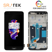 5.5 AMOLED Original LCD for Oneplus 5 Display Touch Screen with Frame Replace for OnePlus 5 Display A5000 One Plus 5 LCD