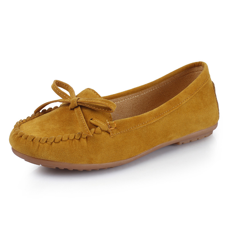Sauvages Chaussures Infirmière Pieds Confortables Peas De Femmes Nouveau Rouge Fond Mou Les vin Banlieue Mis D'été Plat gris Arc jaune Noir wBqExZxpX