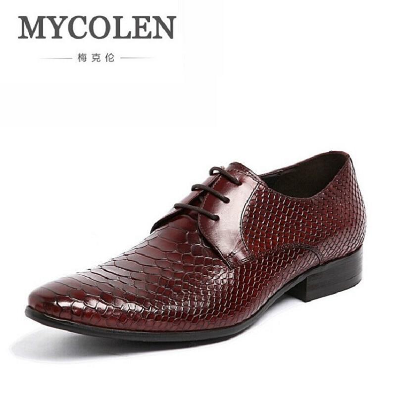 Cuero Social Zapatos Negro De Vestido Formal Punta En Negro Negocios Sapato Mycolen vino Mens Tinto Auténtico Rojo Zurriago Del Cq1vt1wx