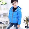 2016 de otoño e invierno Las Niñas de algodón caliente abajo chaqueta oferta especial al por mayor engrosamiento de ropa para niños