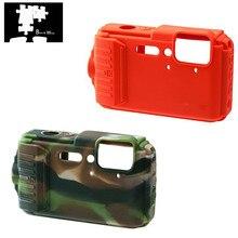 Silikon Zırh Kılıf Vücut Kapak Koruyucu için Nikon CoolPix AW120 AW130 dijital kamera SADECE