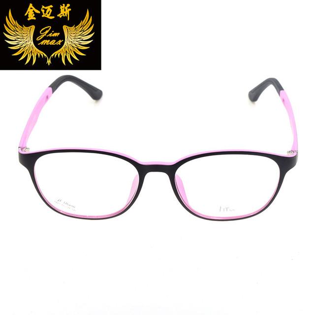 Nuevo Vintage TR90 Hombres Mujeres Vidrios Del Ojo del Estilo 2016 Manera De La Calidad Pequeña Forma Retro Diseño de Marca Marco Óptico Eyewear Oculos