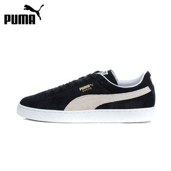 PUMA Suede Classic Hard-Wearing Men Skateboarding Shoes Comfortable Lace-up Leisure Anti-slippery Sports Sneakers Women 352634 suede